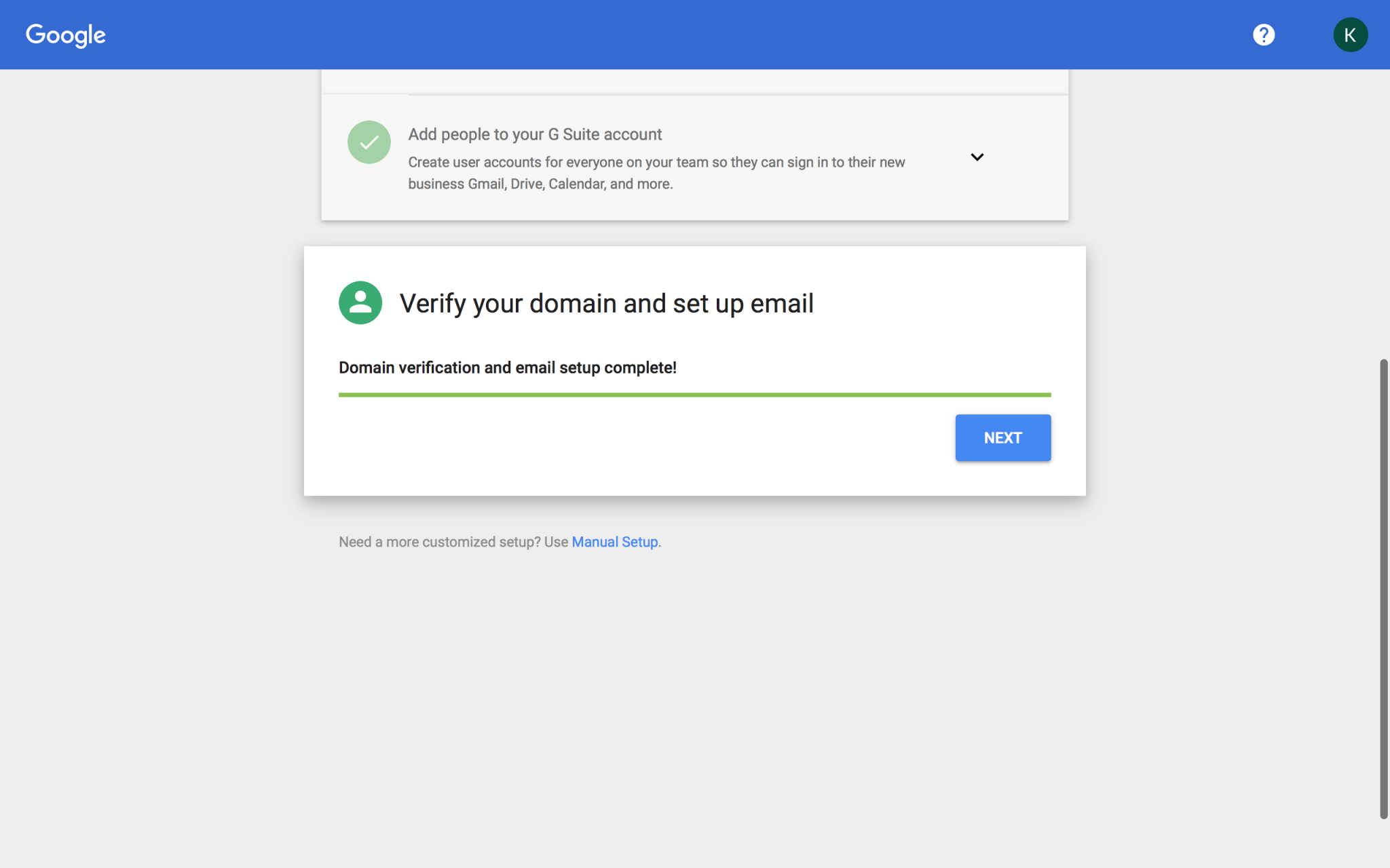 How to create gmail account for business