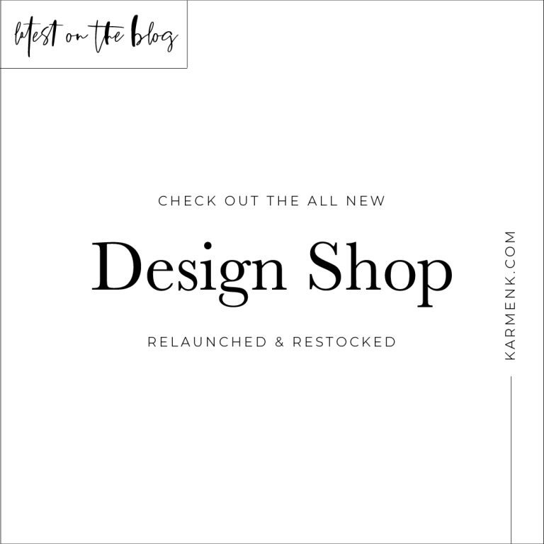 The Design Shop Has Officially Relaunched!