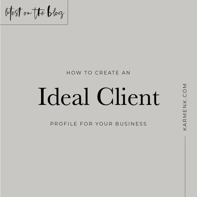 What is An Ideal Client Profile?