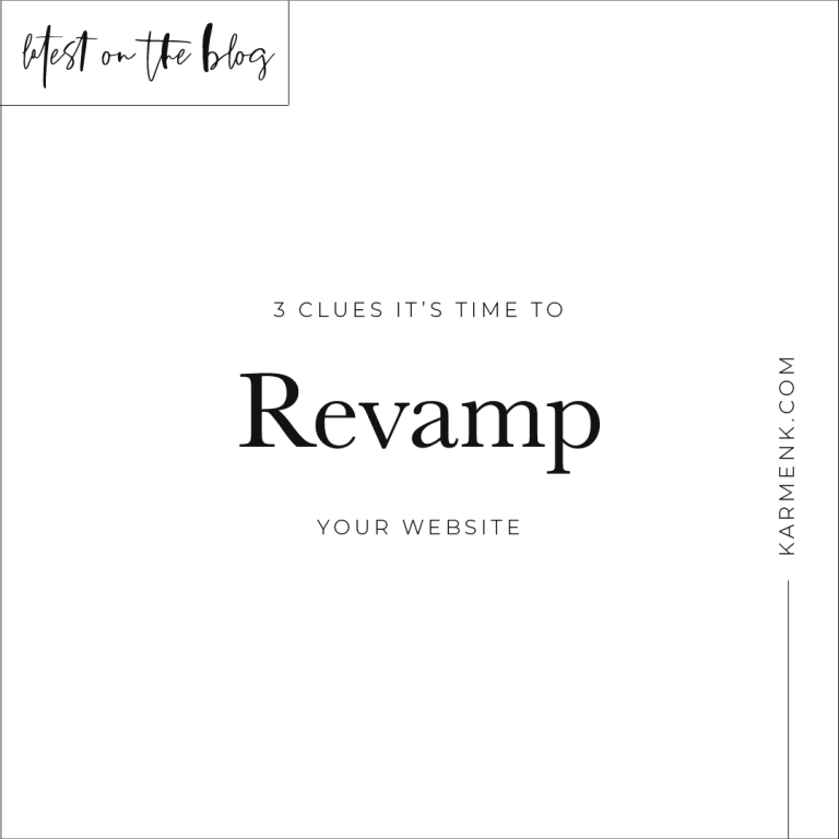 3 Clues It's Time To Revamp Your Website