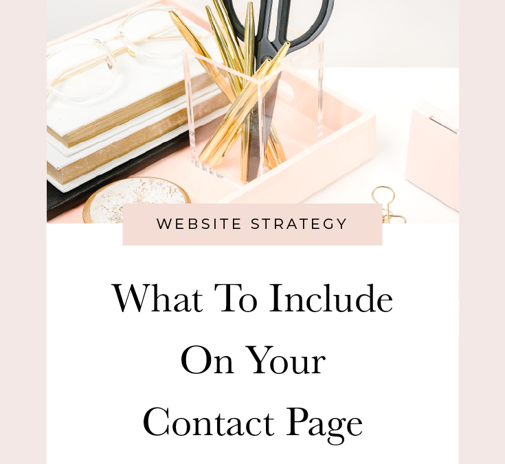 What To Include On Your Contact Page