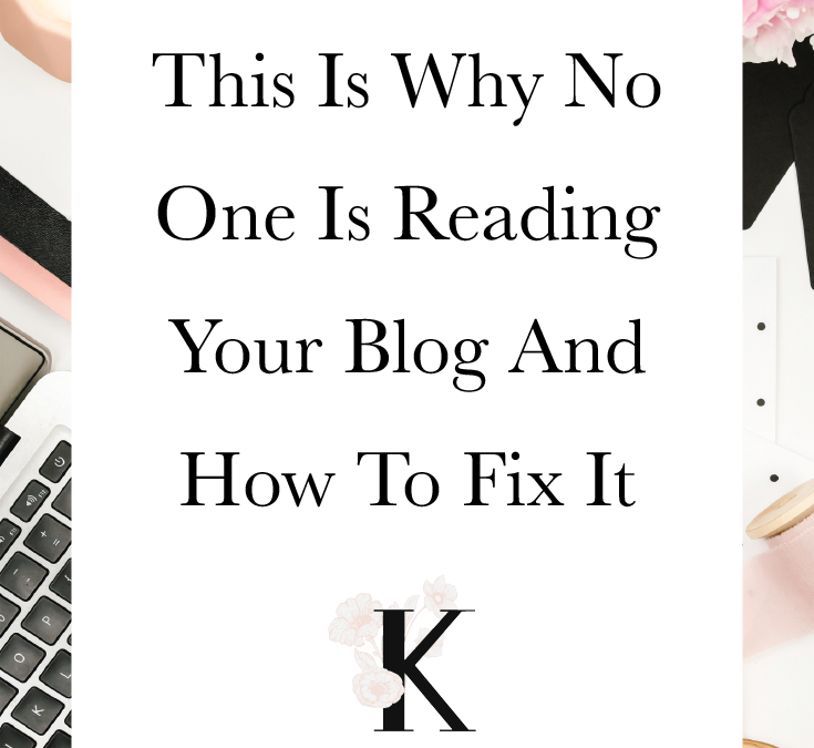 This Is Why No One's Reading Your Blog