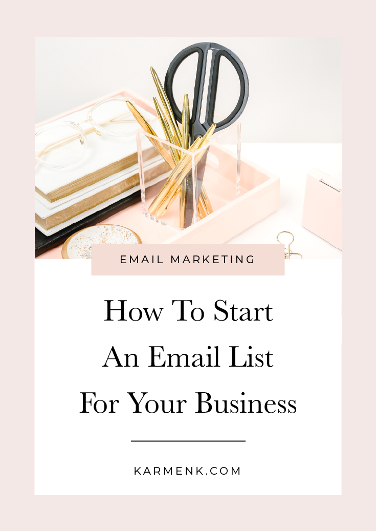How To Start An Email List For Your Business
