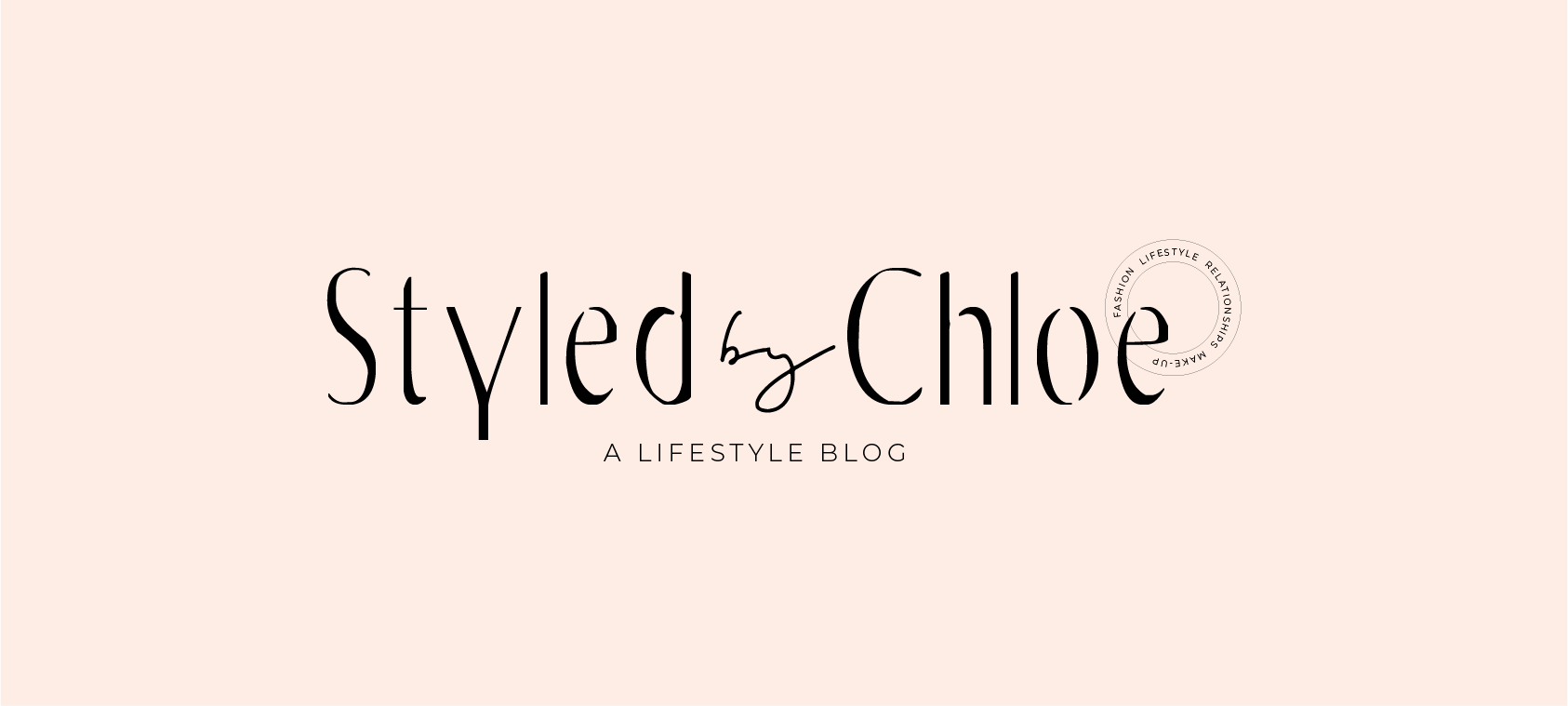 Styled by Chloe Logo for bloggers, women entrepreneurs, and cre