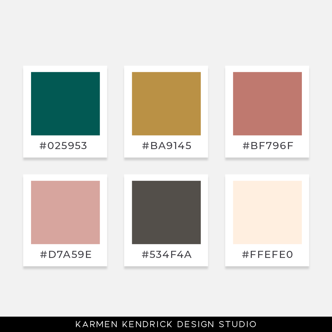 52 weeks of color palette for your brand