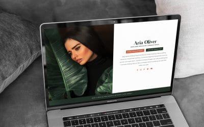 Just Launched! Aria: One Page Website for WordPress