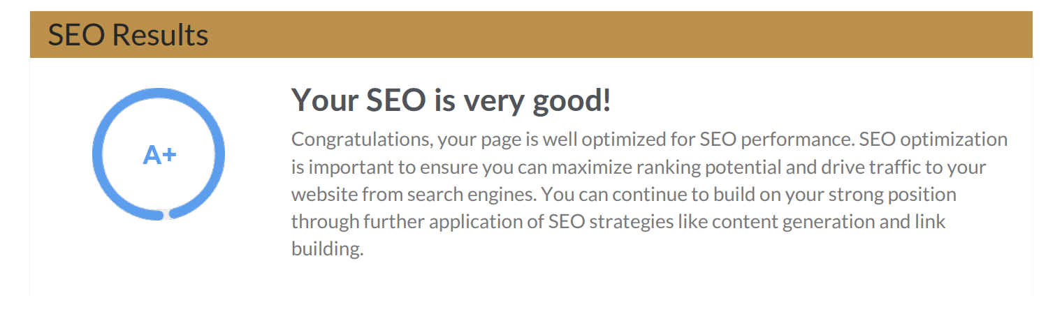 Free Website Audit Report SEO