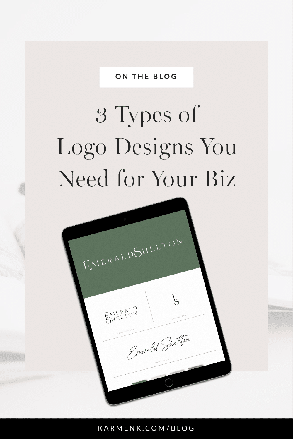 3 types of logo designs you need for your business