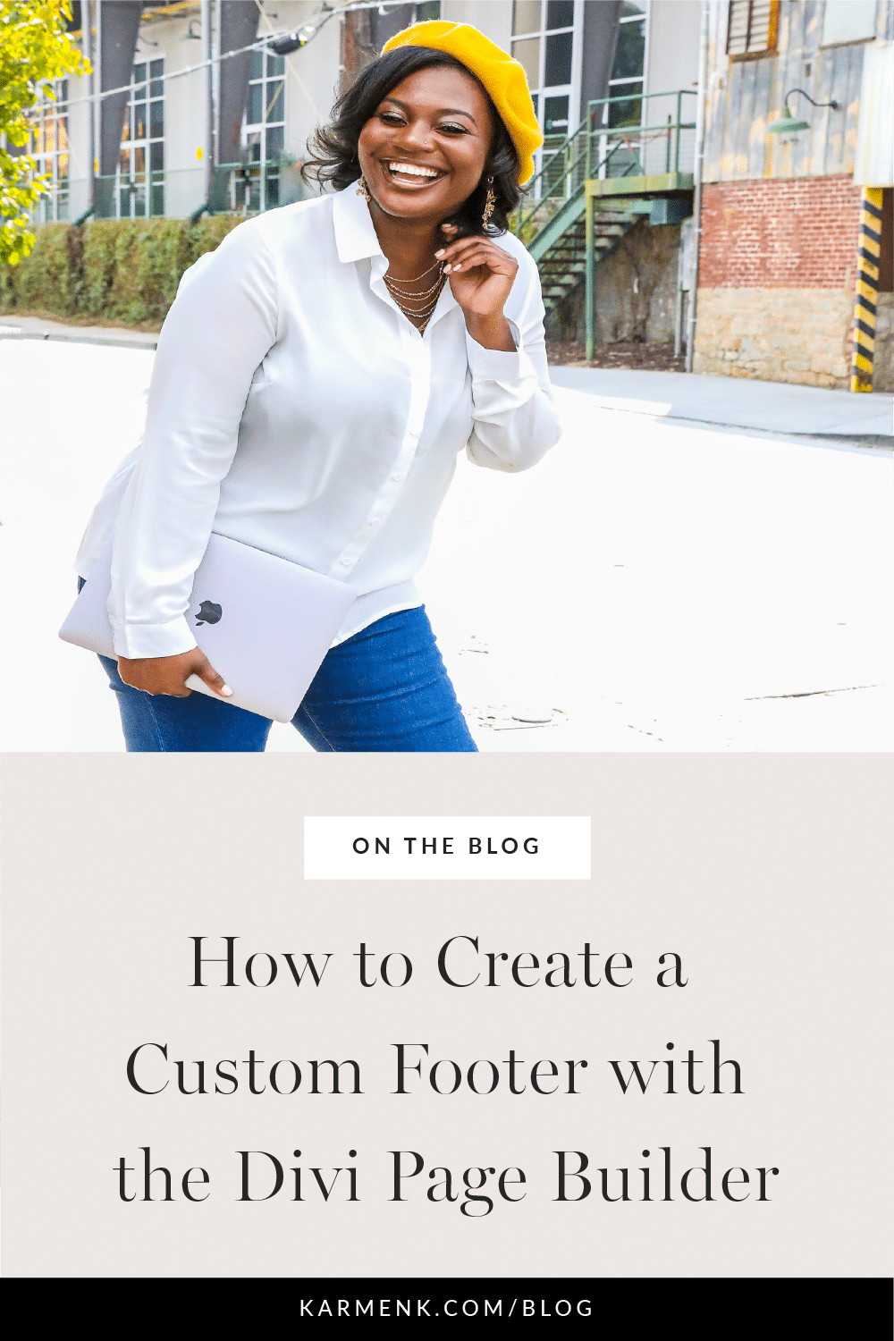 How to Create a Custom Footer with the Divi Page Builder